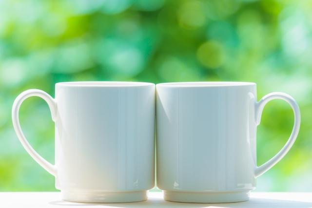 きれいなマグカップ
