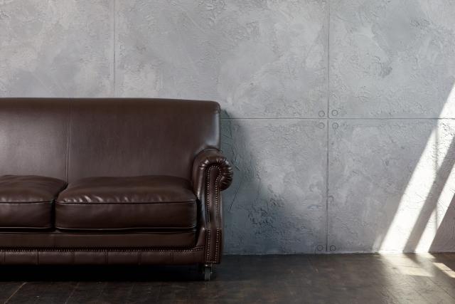 茶色の家具