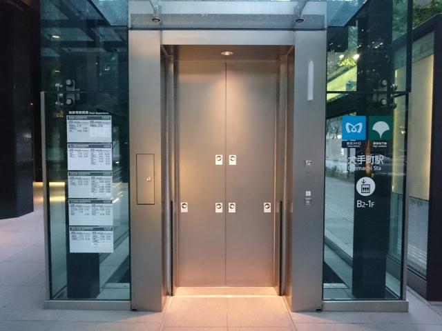 地下エレベーター