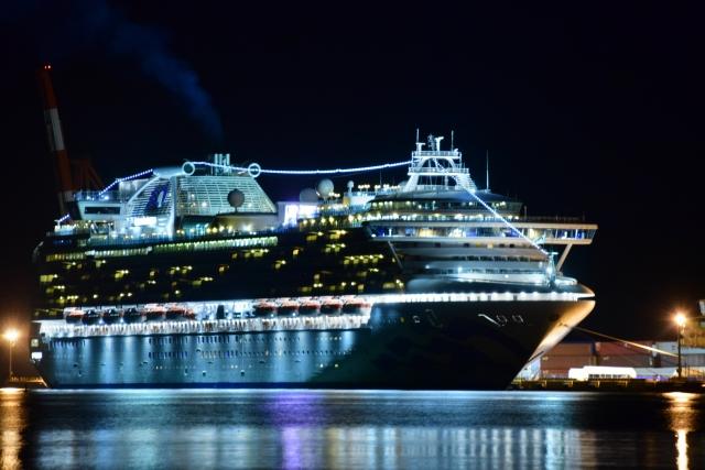 大きい豪華客船