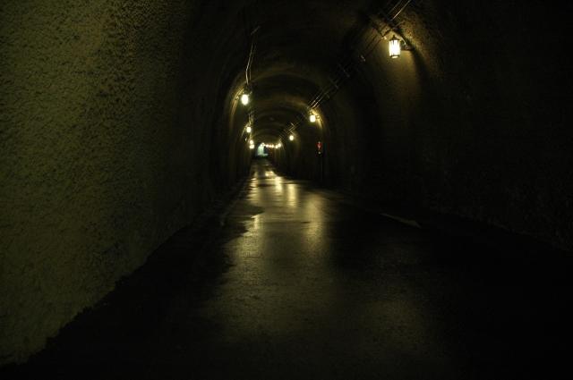 トンネル内がジメジメしている