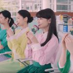 岡本玲のローソンCMグリーンスムージーは7種類!チェアラインダンスの美女は何人?