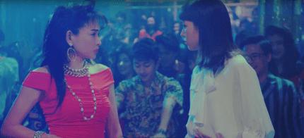 1980年流行語『ナウい』は死語!Yモバイルで桐谷美玲と田中美奈子のボディコン対決!