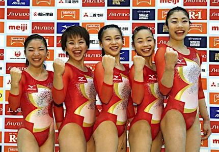 体操女子リオ五輪代表