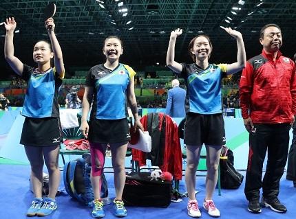 卓球女子 日本