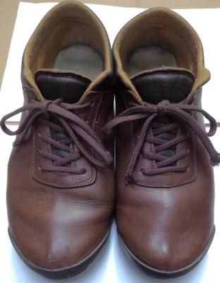 靴磨き 完成