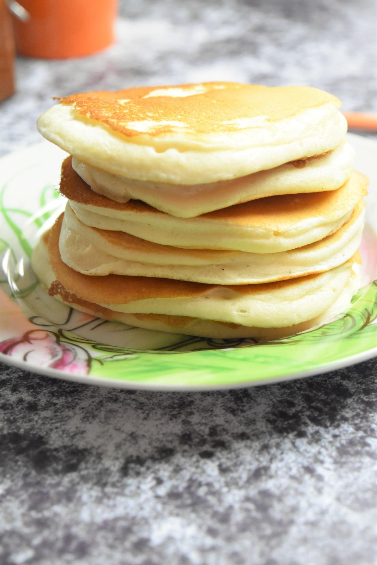 Blanc En Neige Recette : blanc, neige, recette, Pancakes, Blancs, D'oeufs, Recette, Extra, Moelleuse