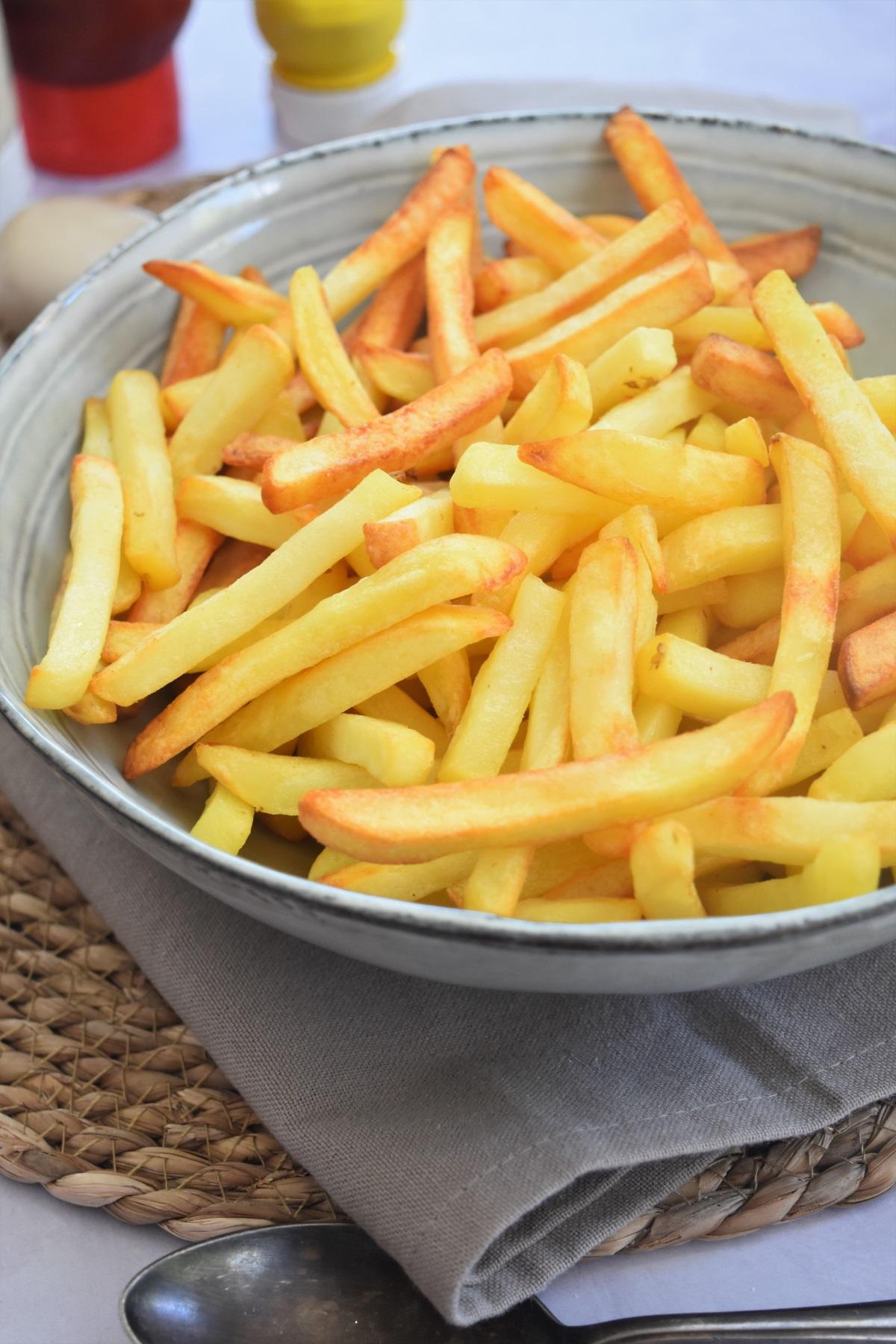 Comment Faire Des Frites Croustillantes : comment, faire, frites, croustillantes, Frites, Légères, Croustillantes