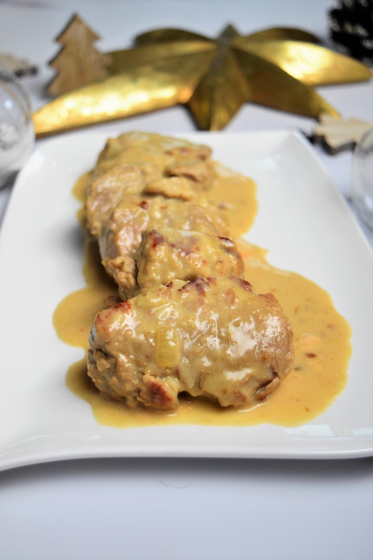 Filet Mignon Cookeo Fond De Veau : filet, mignon, cookeo, Filet, Mignon, Maroilles, Recette, Fêtes