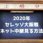 【2020年】セレッソ大阪戦のネット中継を見る方法【無料あり】