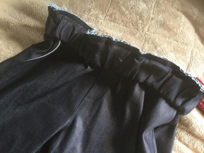 ベルトの縫ズレ