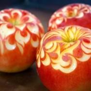 林檎・カービング・林檎バター・アップルバター・りんご