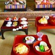 ひな祭り・お雛様・雛膳・ちらし寿司