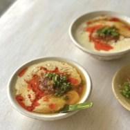 薬膳・食養生・豆乳・豆乳のふるふるスープ・和風とうじゃん・あさイチ・黒酢・豆乳レシピ・麺つゆ
