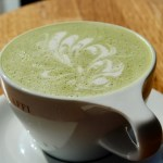 Matcha latte green tea