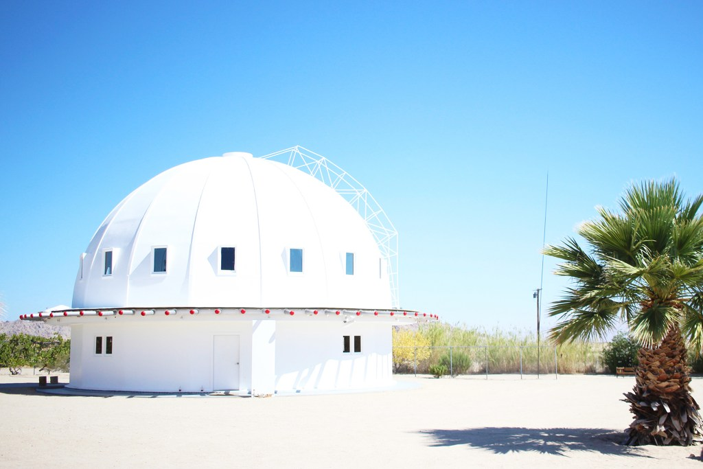 yummertime visit to the Integratron near Joshua Tree