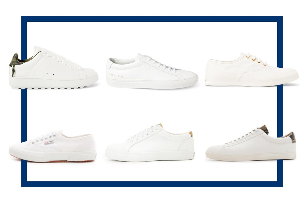 WHITE SNEAKERS OTHER THAN ADIDAS SUPERSTARS