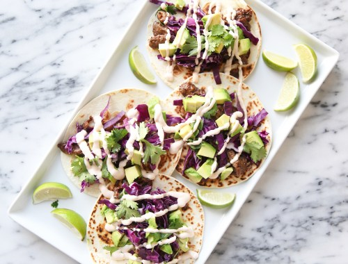 Korean taco recipe
