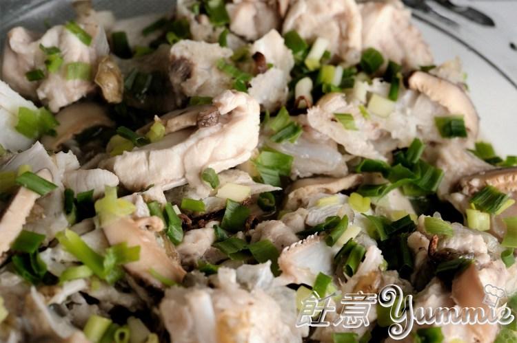 冬菇陳皮蒸斑頭腩