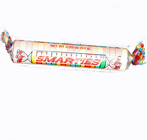 Giant Smarties 2 25 ounce Roll - Yummies Candy & Nuts