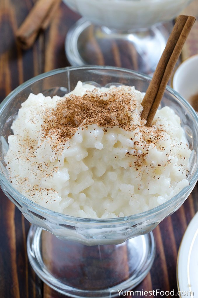 Cinnamon Rice Pudding - Recipe from Yummiest Food Cookbook