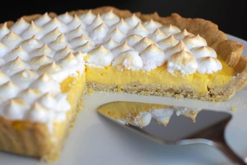 tarte au citron au thermomix pas trop sucree acidulee