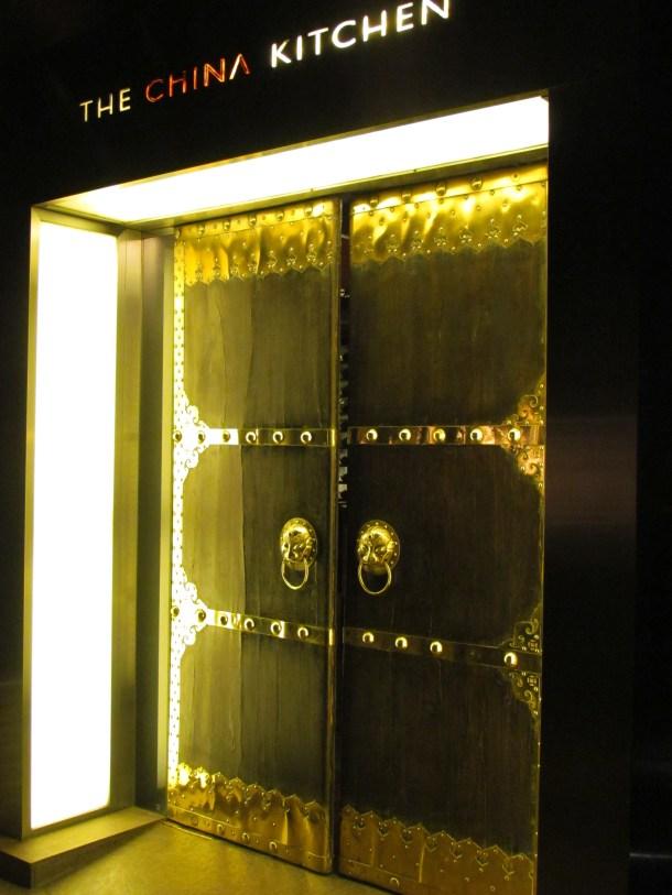 Grand Door with Lion head handles
