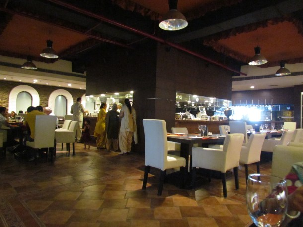 The Dining Hall at Indian Grill Room