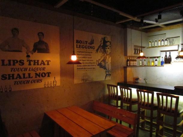 Ground Floor of the restaurant
