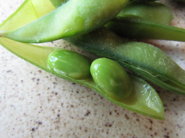 Peep inside the soya bean