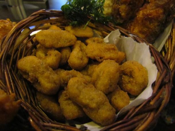 Calamari batter fried