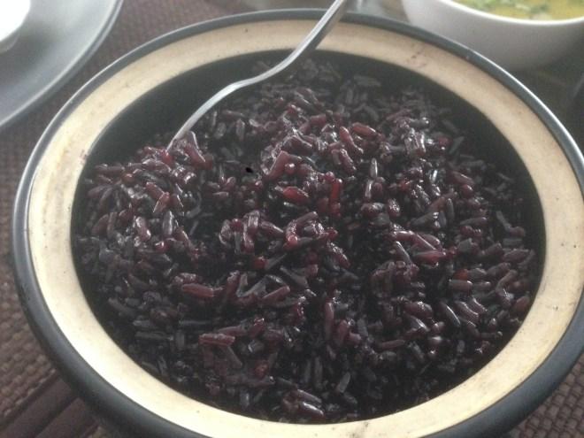 red rice with no white rice added to it
