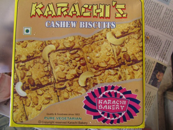 Cashew biscuits packaging