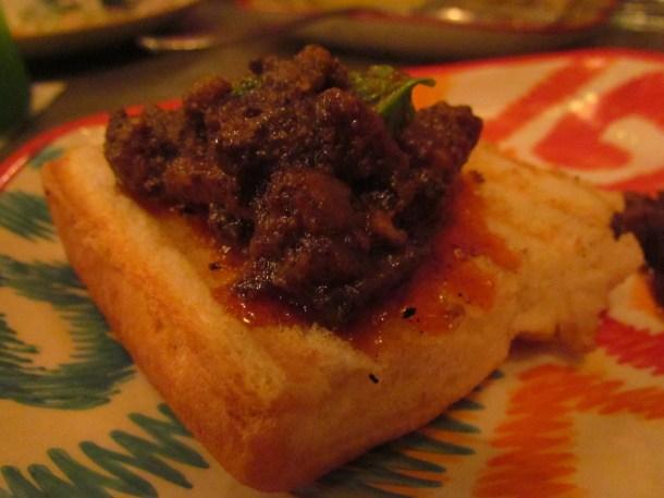 Goan pickled pork sausage