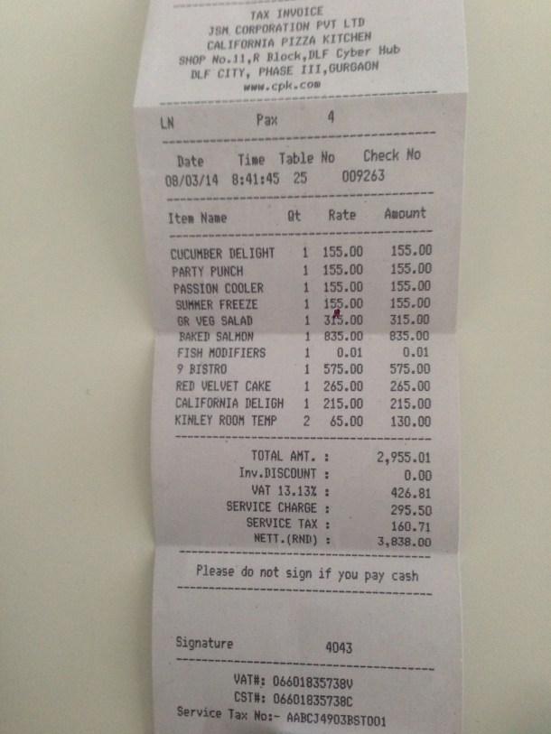 receipt - proof of purchase