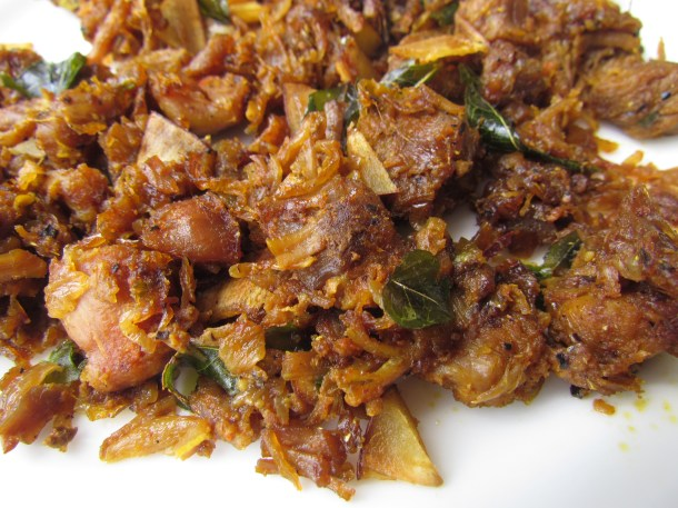 mutton sukka fried