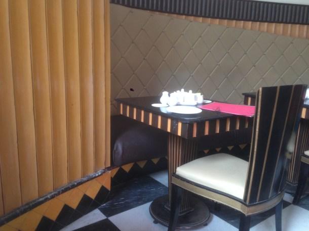 A glimpse of the furniture