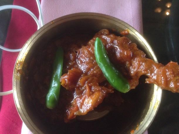 Kasha Murgi Kancha Lanka diye