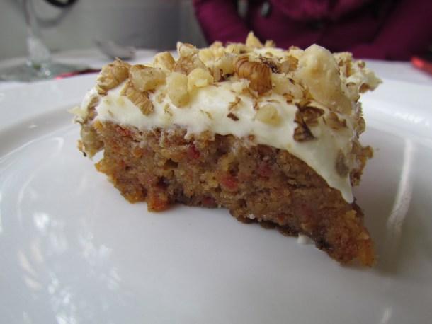 'home made' Carrot cake