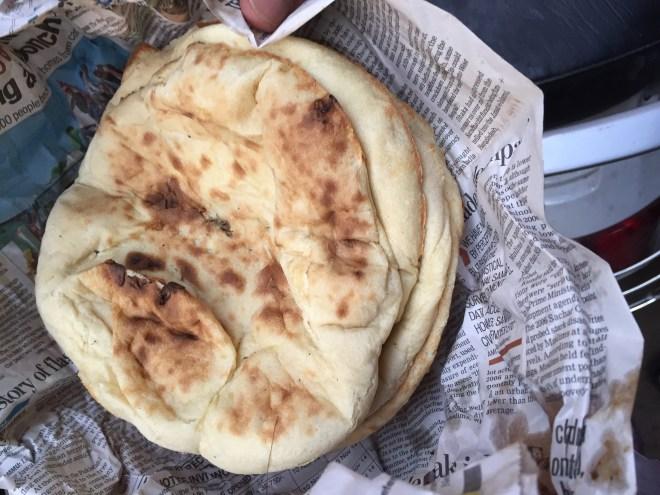 roti served with nihari