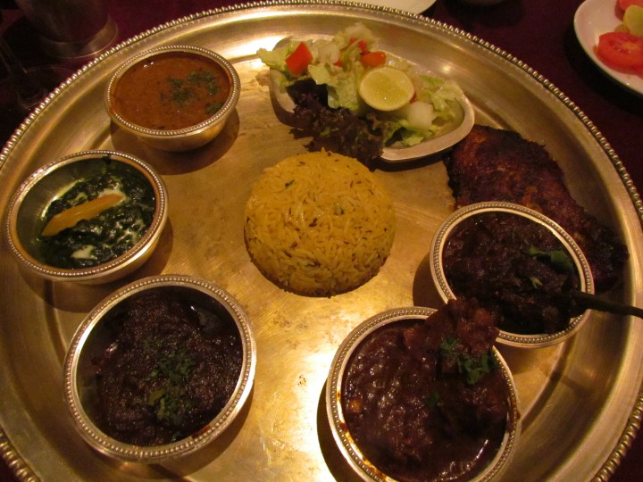 Marathi & Nepali thali