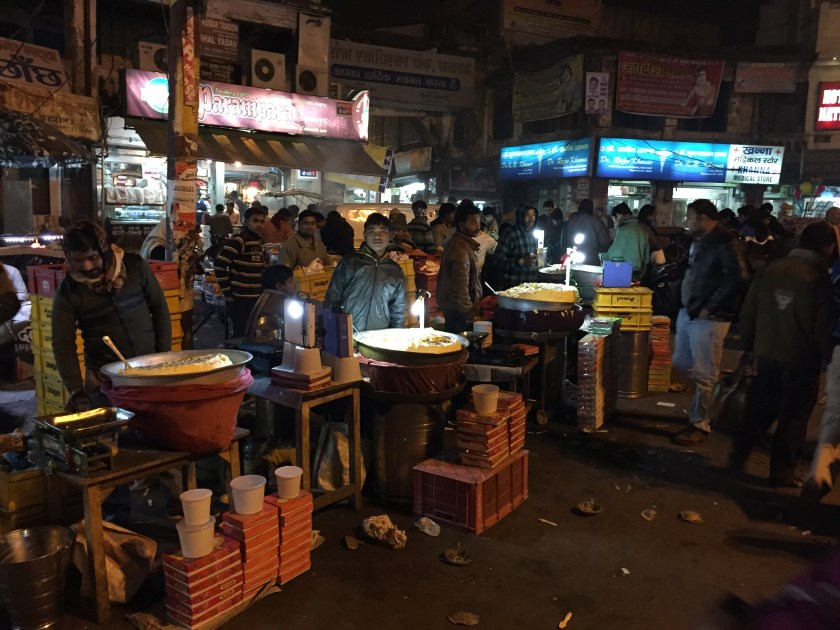 Makhan Malai vendors in Chowk, Lucknow