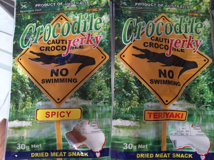 crocodile meat jerky