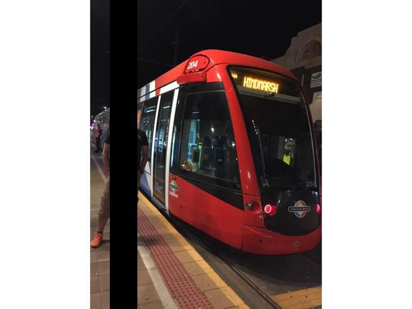 tram - more modern look trams