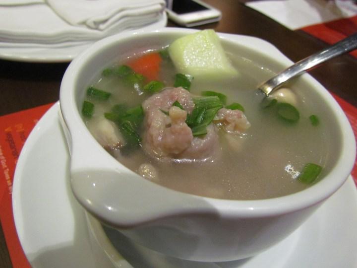 Pork cucumber soup