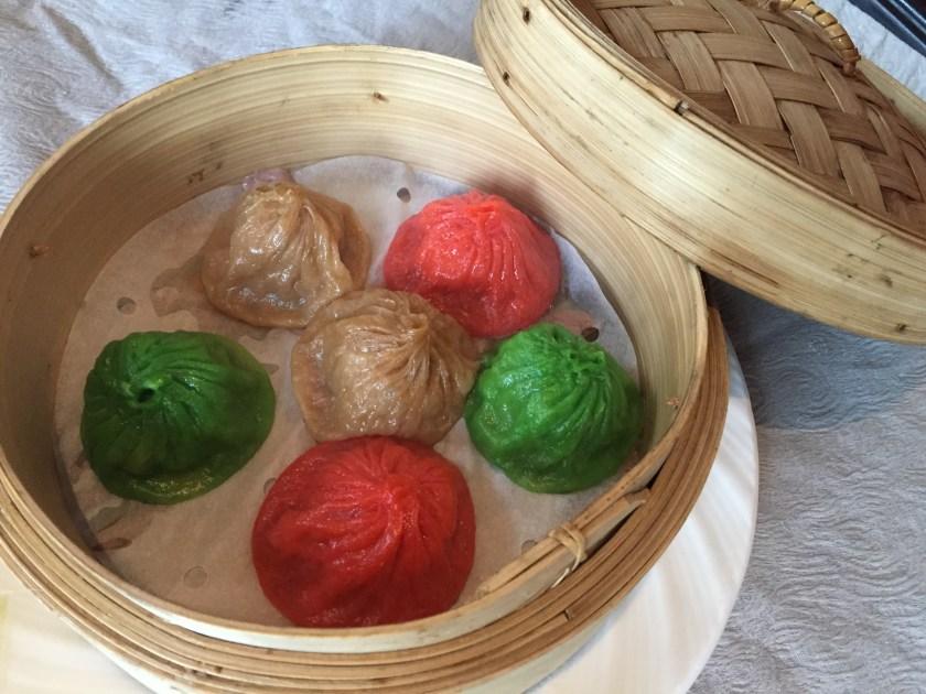 Minced mutton and pork Xiao long bao