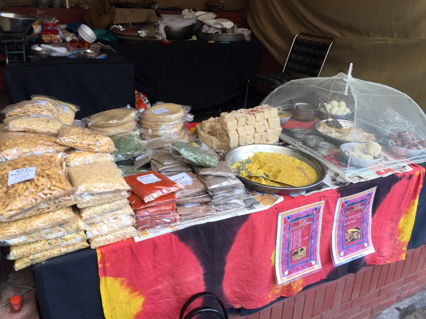 locally packed food & local sweets