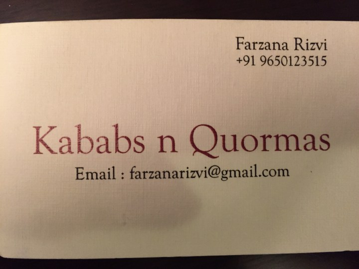 Kababs & Quormas