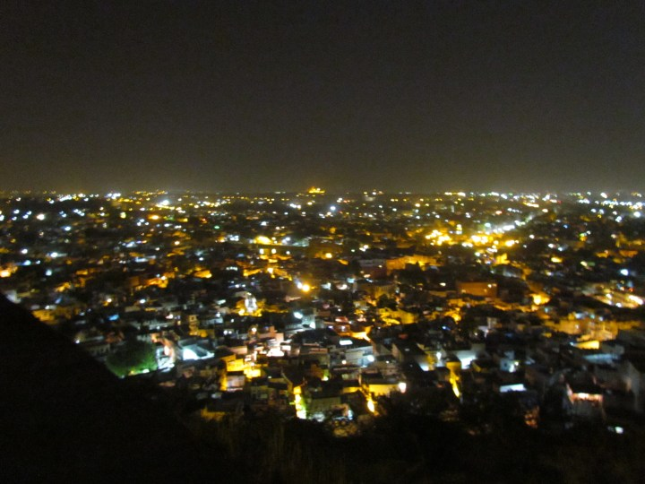 Bird's eye view of Jodhpur city
