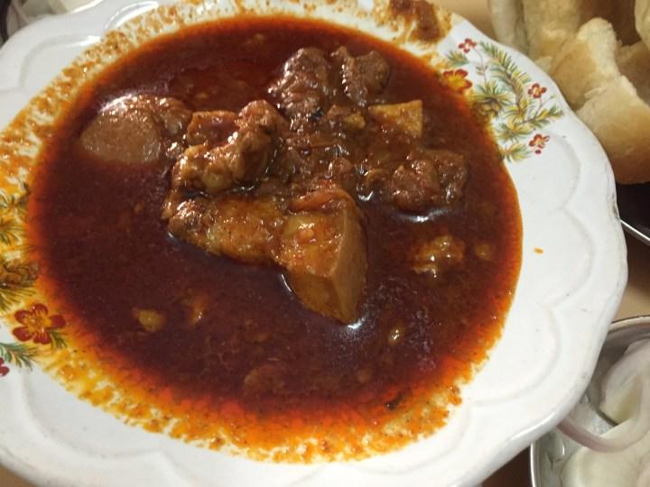Vindaloo pork
